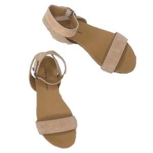 Lucky Brand Garston Sandals Espadrille in Stone